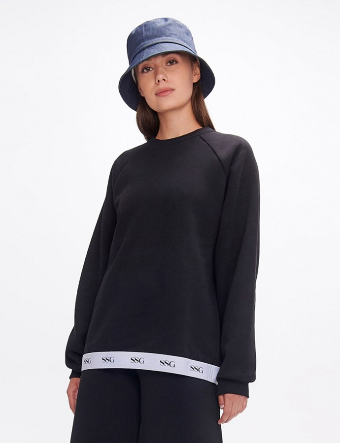 Valerie black sweatshirt