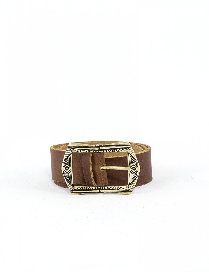 Symmetry belt tanned