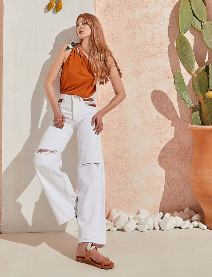 Outburst jeans off white