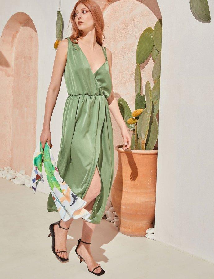 Liberty dress green