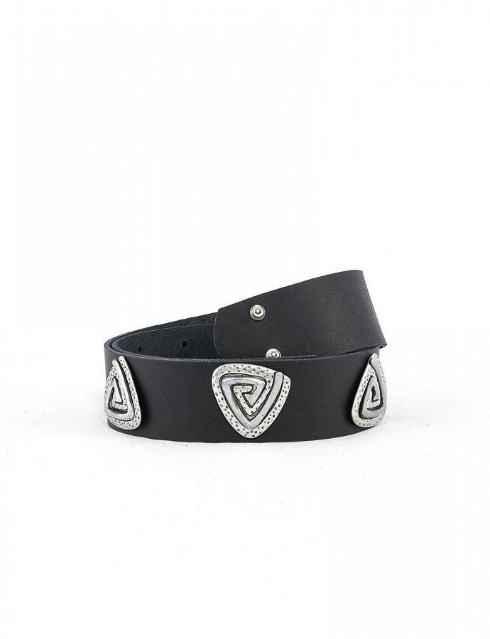 Three jewels belt black