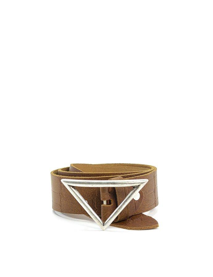 True belt taba croco