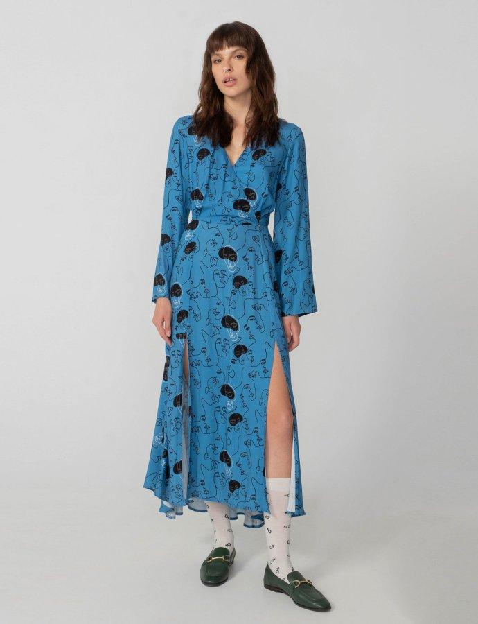 Unity dress blue