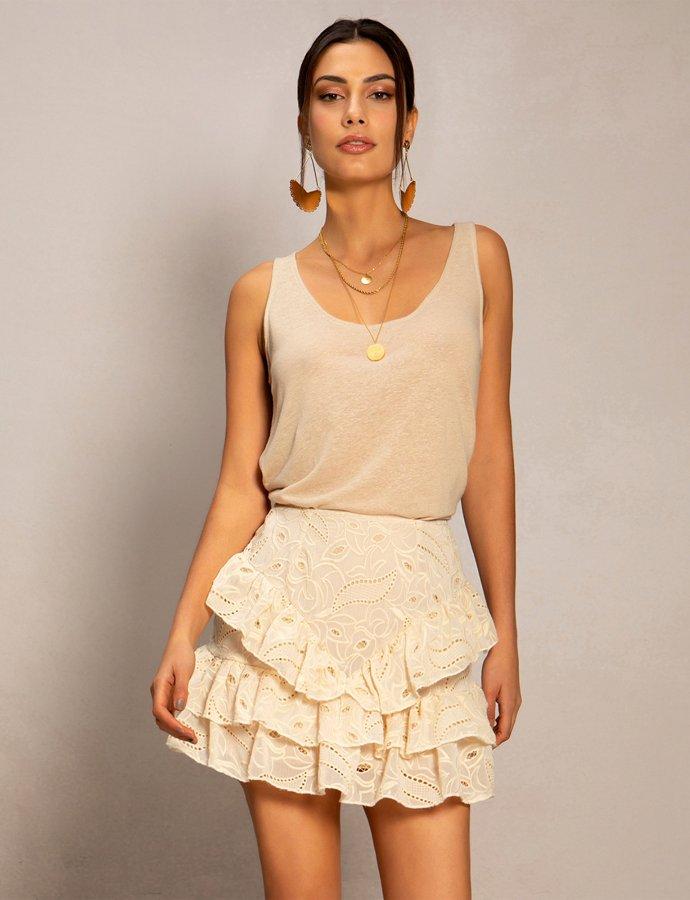 Srawberry fields skirt