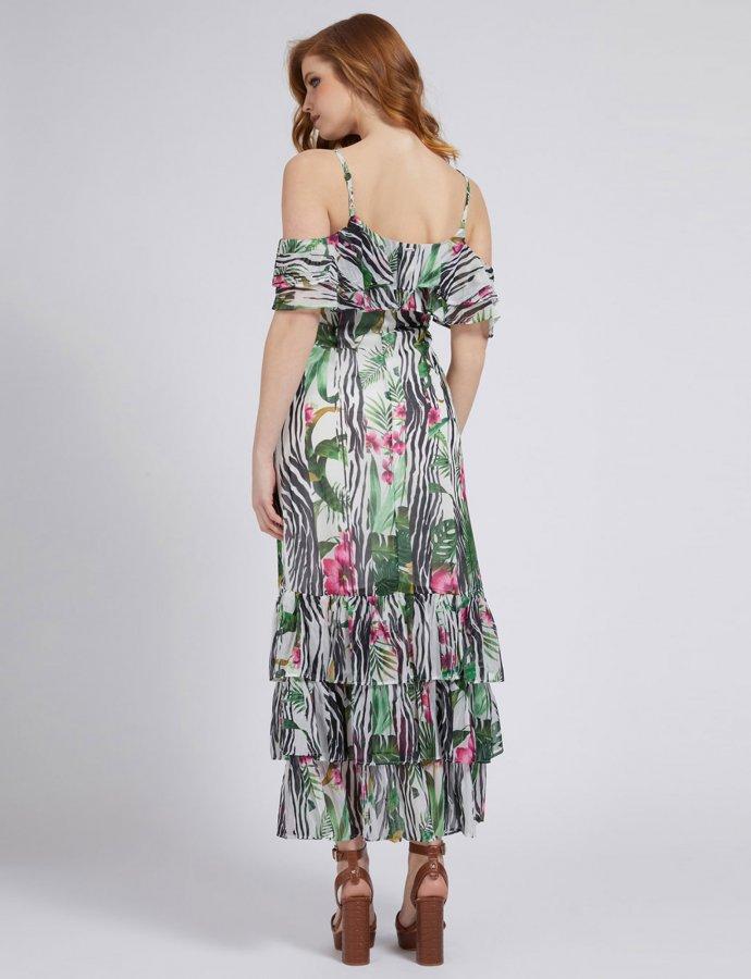 Agathe all over print dress