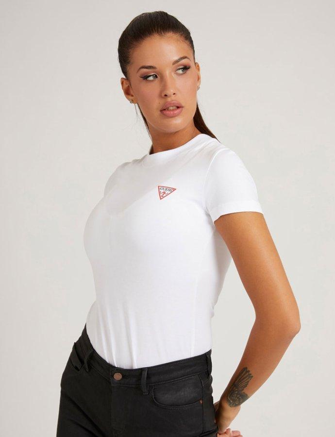 Mini triangle t-shirt white
