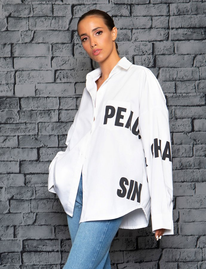 P+C white shirt