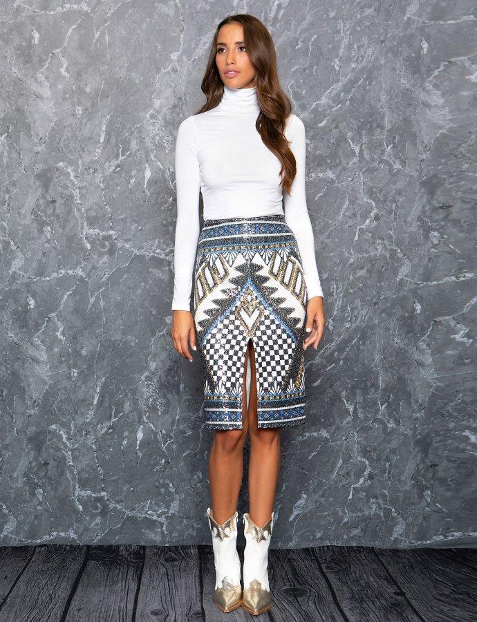 Azurite skirt