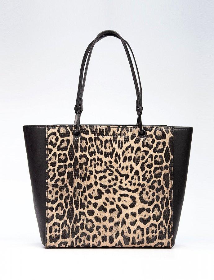 Sarahya tote bag leopard