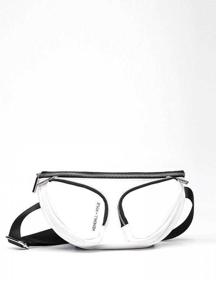 Mia waist bag white