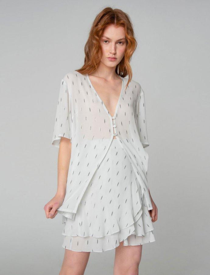 Pearl of Africa skirt white