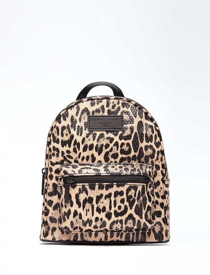 Sam mini backpack leopard