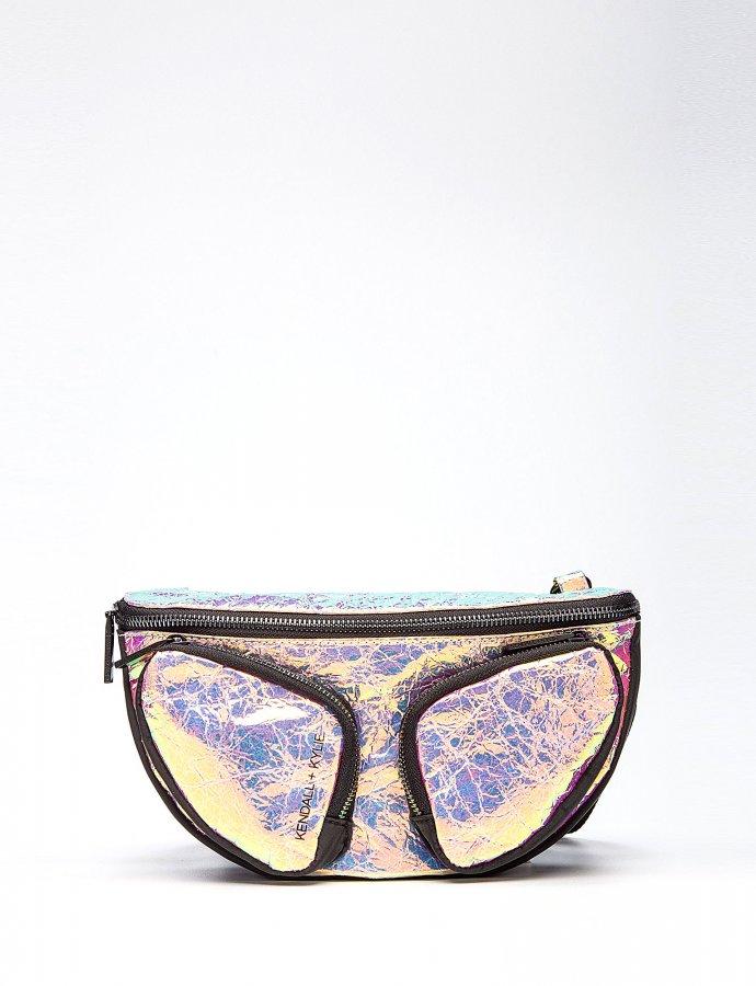 Mia waist bag iridescent