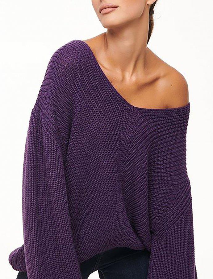 Combos W53Α – Purple loose top