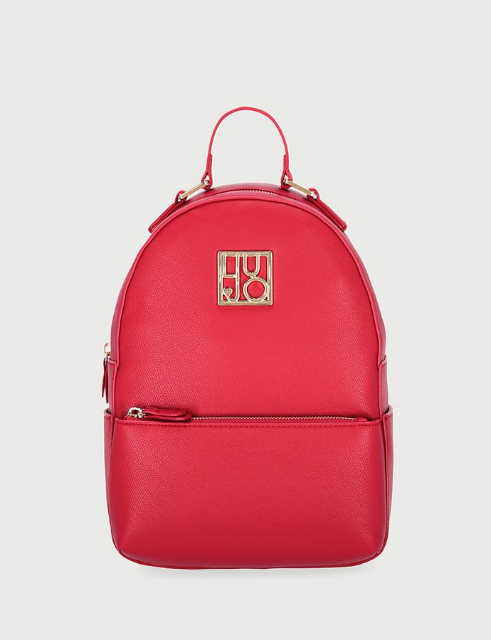 Eco-friendly backpack red