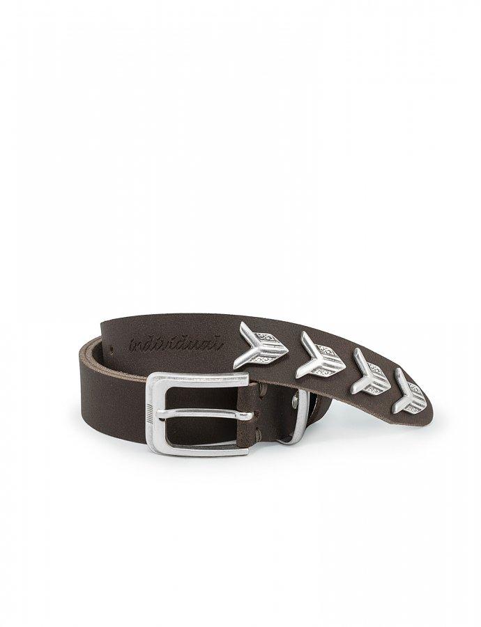Paranoid belt brown