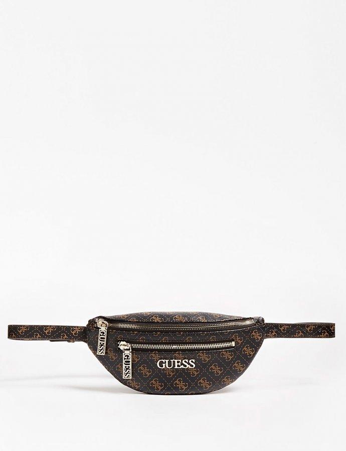 Manhattan belt bag logo