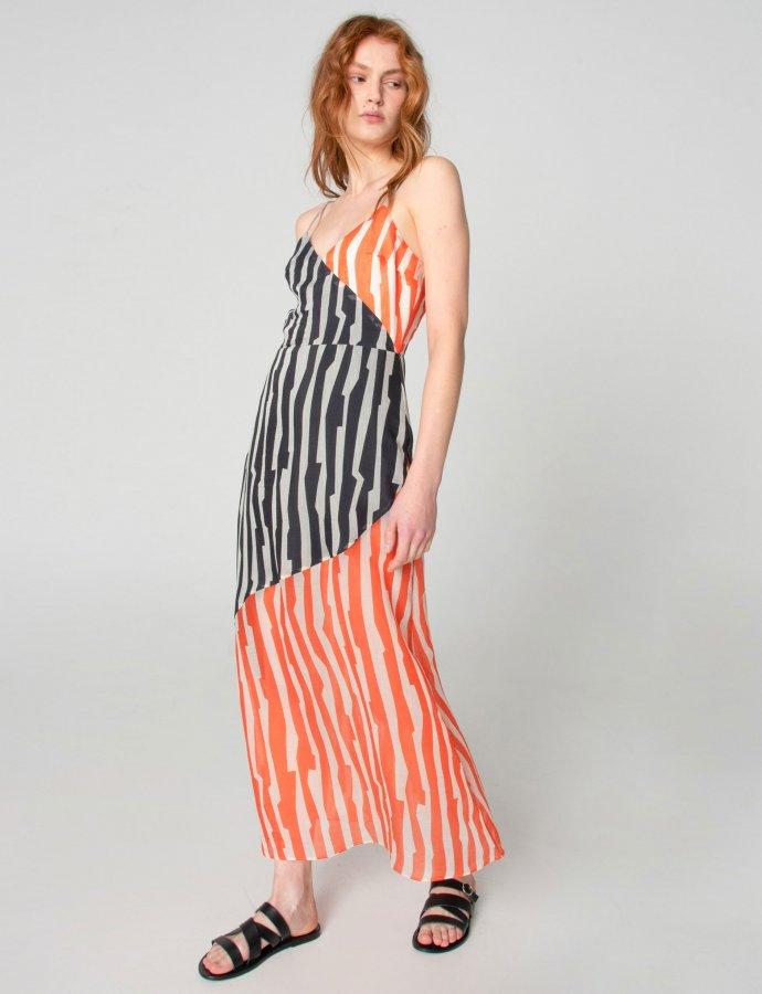 Zebras in city dress