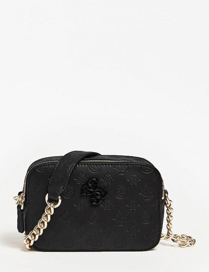 Noelle crossbody camera bag black