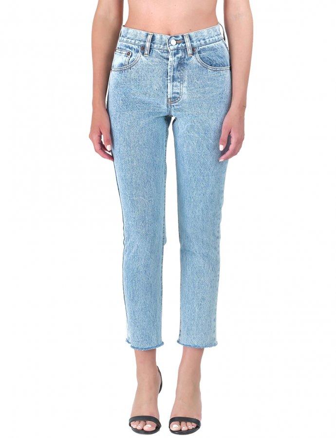 Kelly barrel cropped denim pants