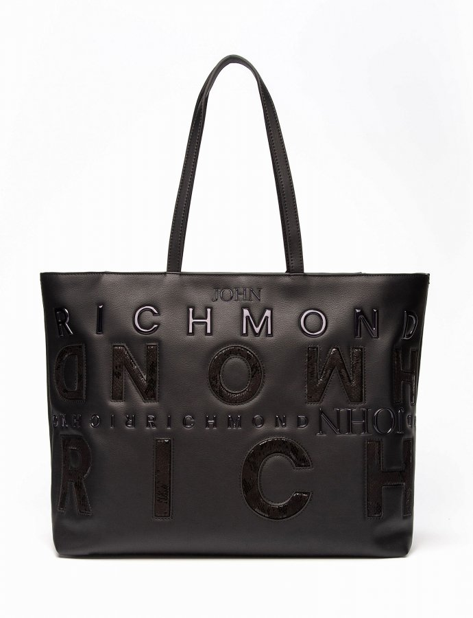 Shopper bag Geberga black