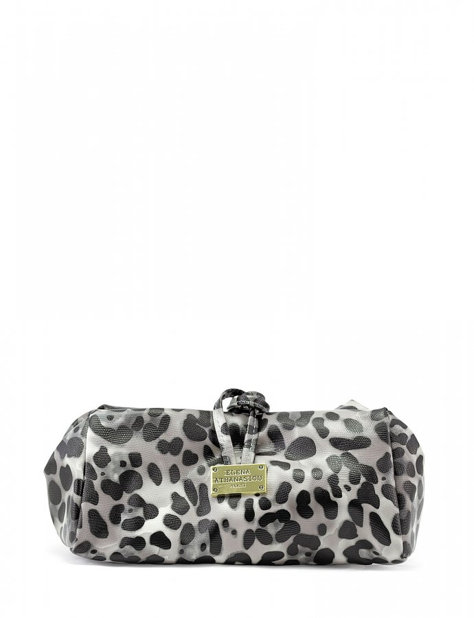 Large lunch bag animal print black