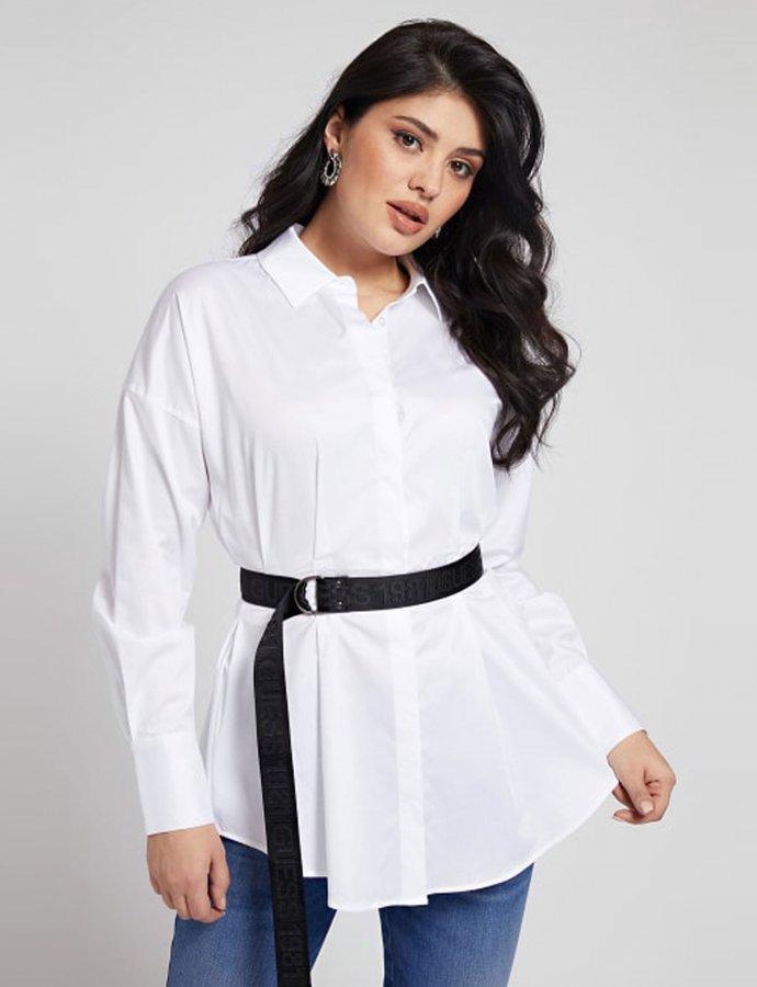 Rhianna belted shirt