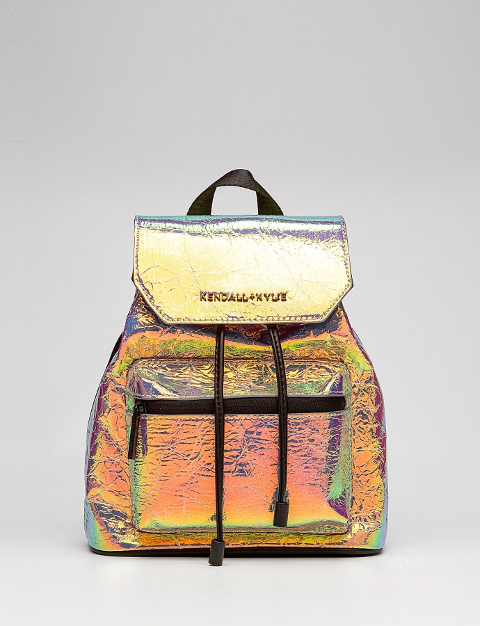 Serena small backpack iridescent