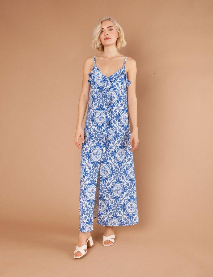 Daiquiri blue dress