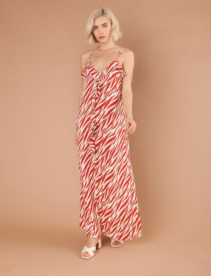 Daiquiri zebra dress