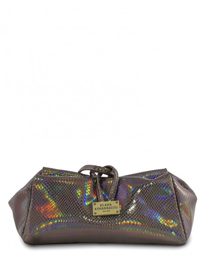 Glitter purple lunch bag