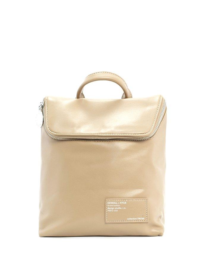 Nina medium backpack camel