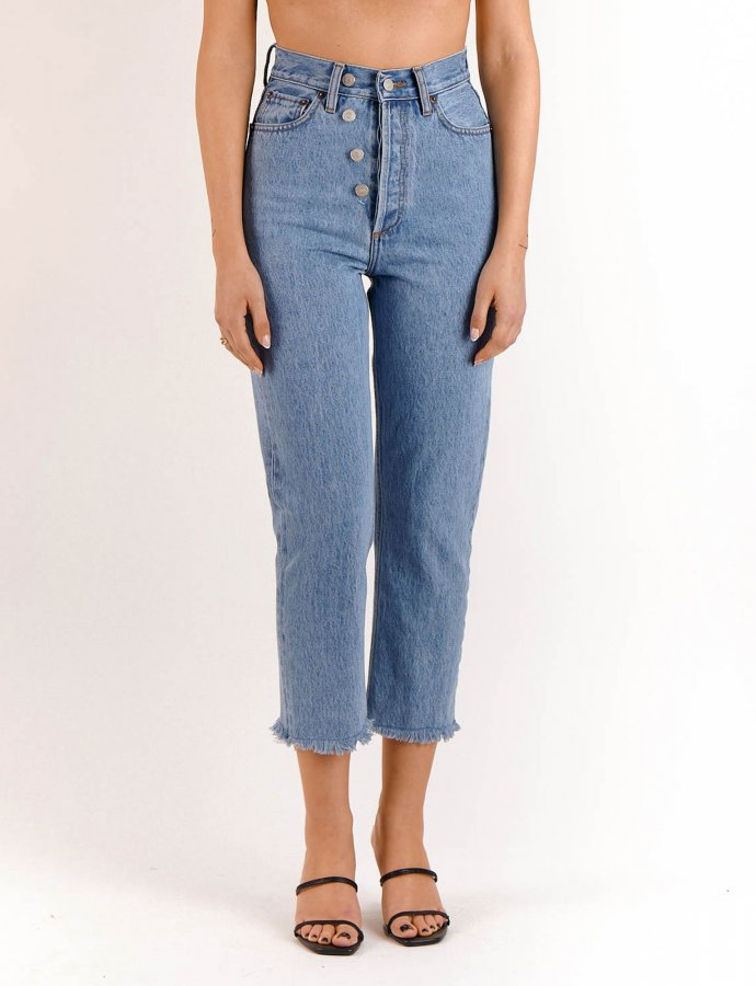 Gia medium cropped denim pants