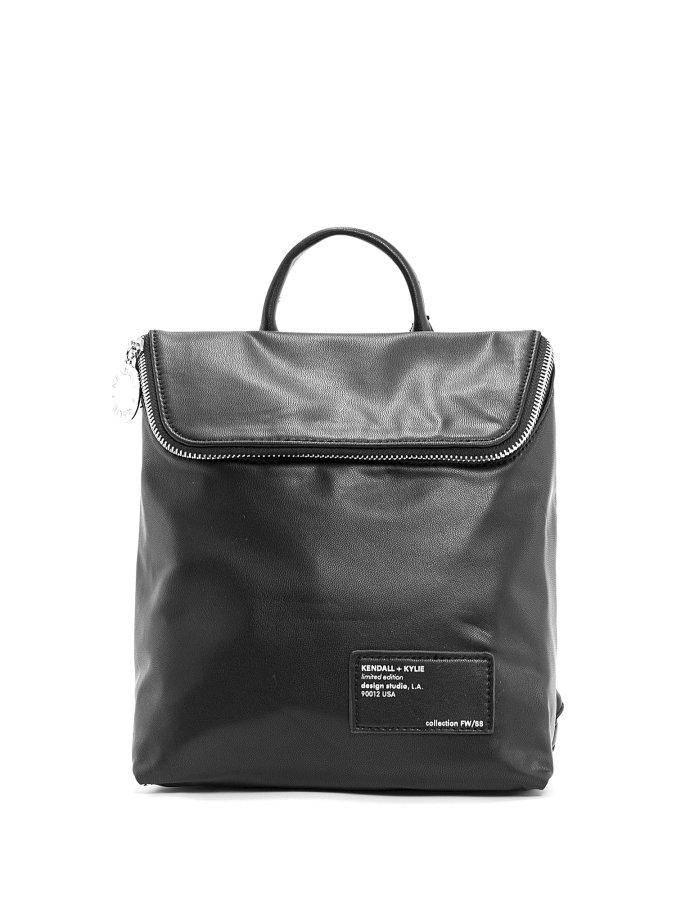 Nina medium backpack black