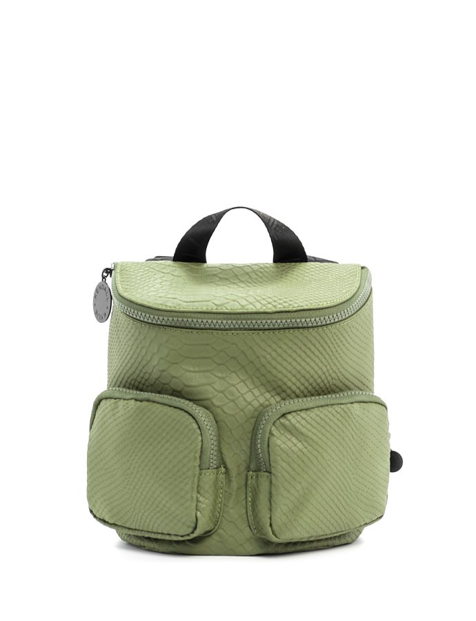 Charlize small backpack snake green