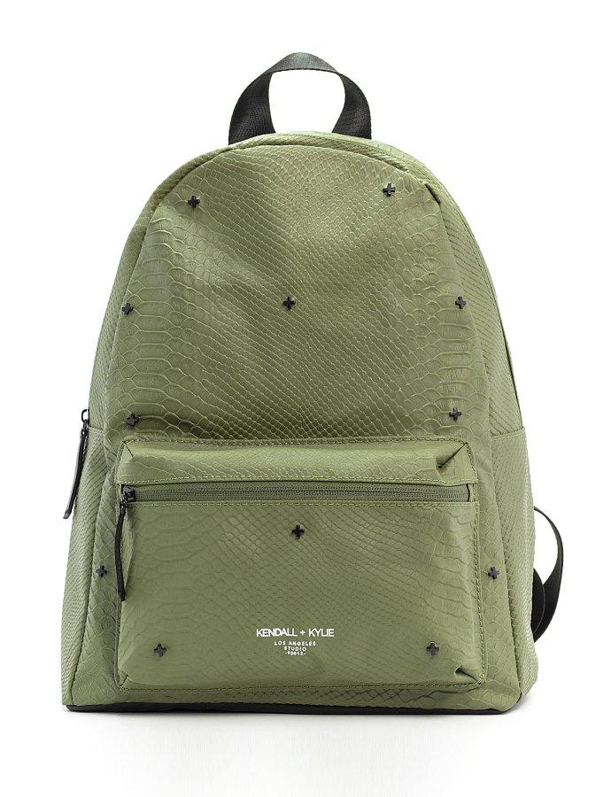 Cora large backpack green snake