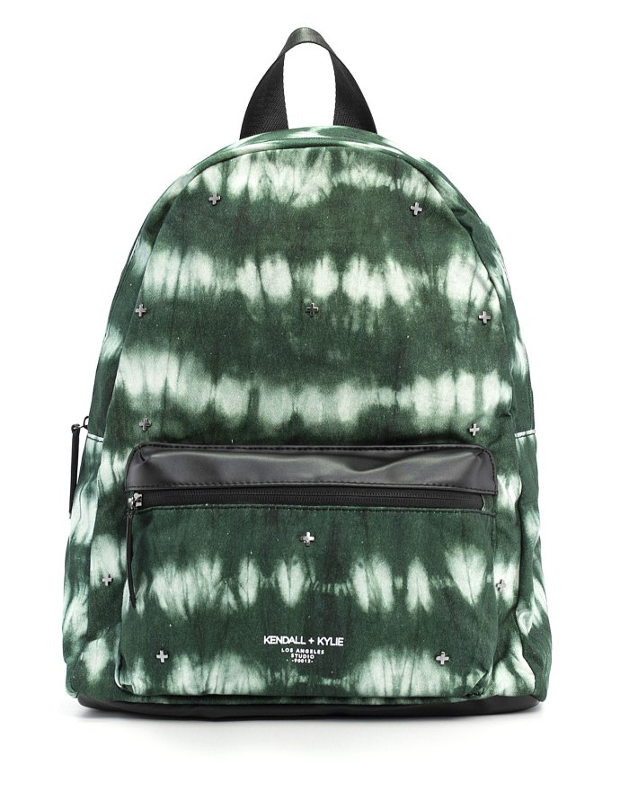 Cora large backpack navy tie dye canvas
