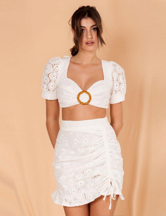 Vita white skirt