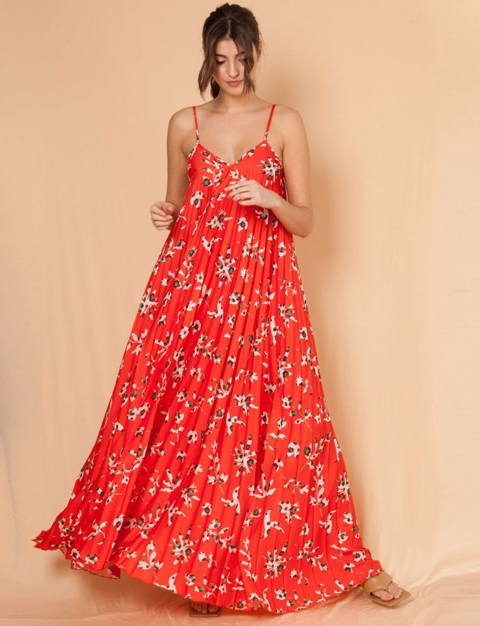Melodia red dress