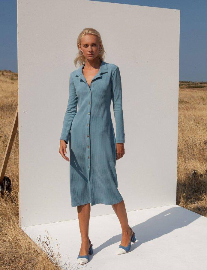 Lucie sky blue dress