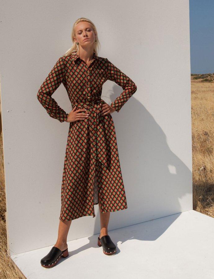 Carissa rhombus dress