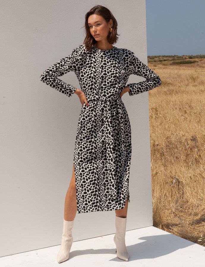 Novena B&W dress