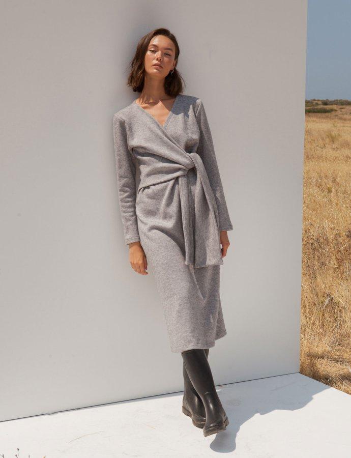 Julien grey dress