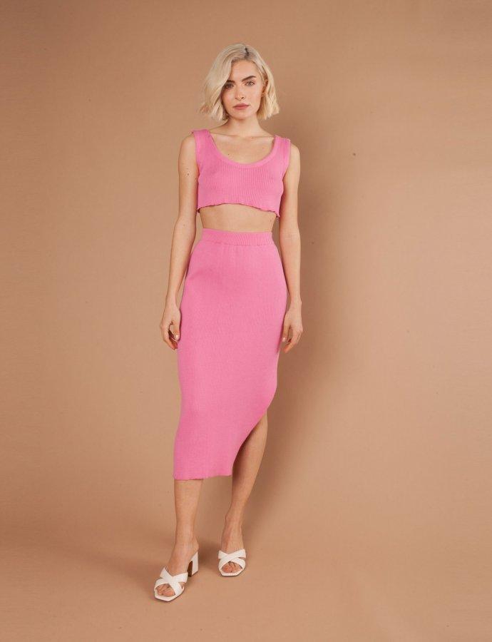 Viola pink skirt