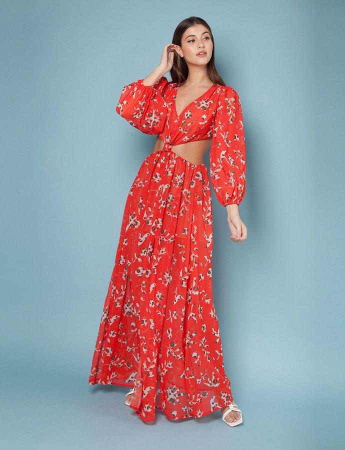 Toscana red dress
