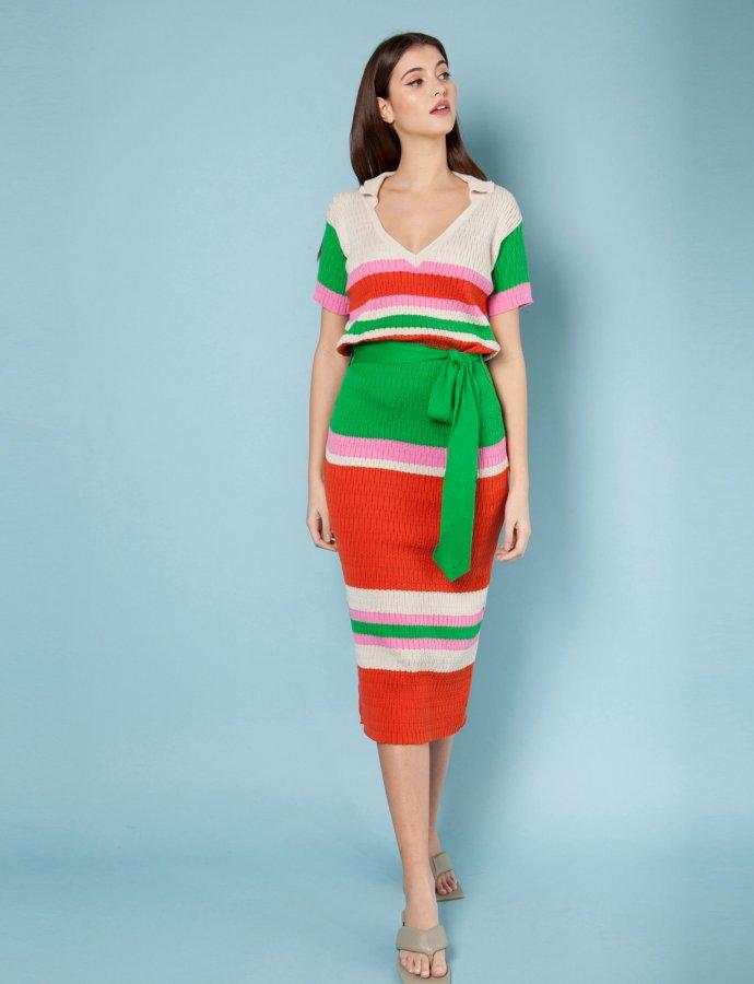 Sorrento stripes dress