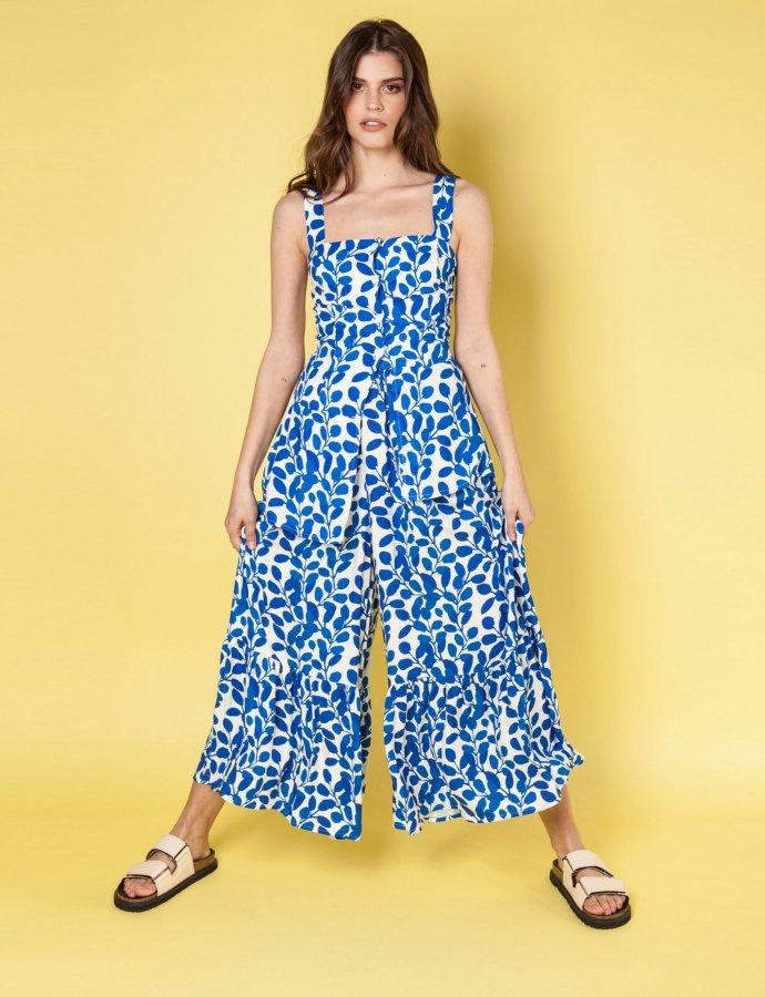 Amelia blue top