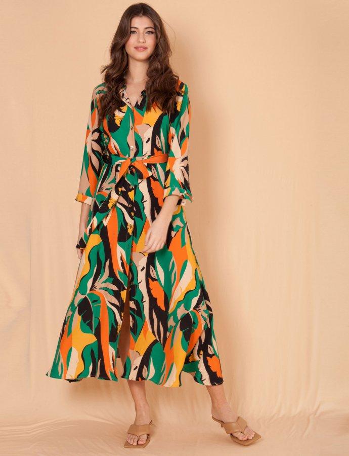 Roma green dress