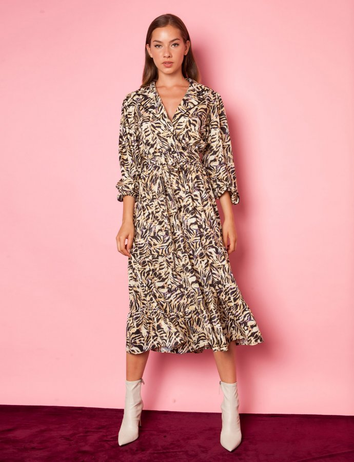 Dahlia zebra dress