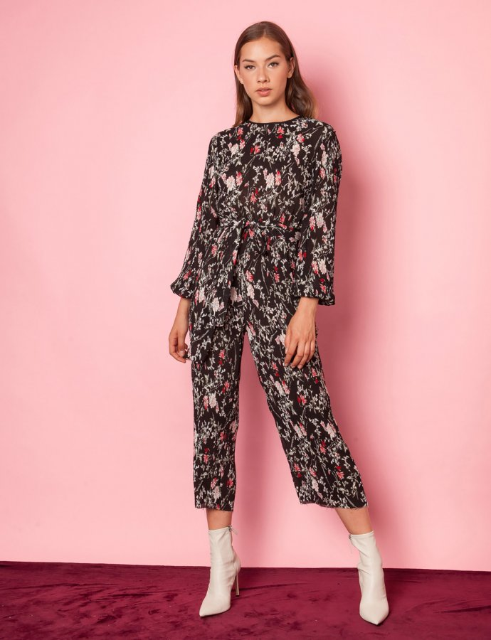 Magic floral jumpsuit